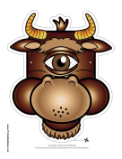 Cyclops Minotaur Mask