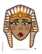 Egyptian Queen Mask