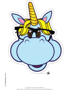 Geeky Unicorn Mask