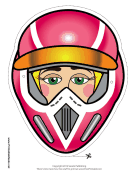 Female Motocross Mask
