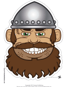 Male Viking Mask