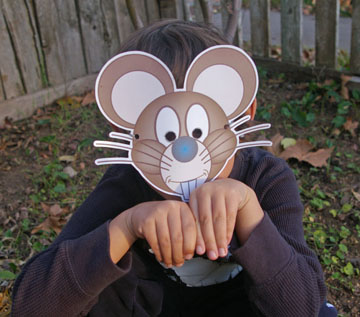 the mouse mask in action