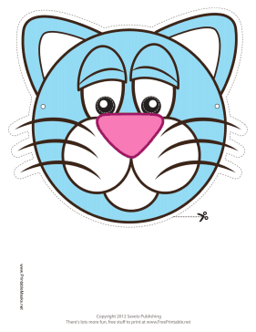 Cat Mask Printable Mask
