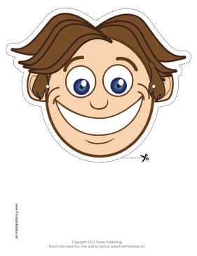Smiley Mask Printable Mask