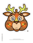 Deer Mask Printable Mask